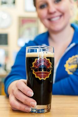 Head Brewer Vilija Bizinkauskas at Drop-In Brewery - BROOKE WILCOX