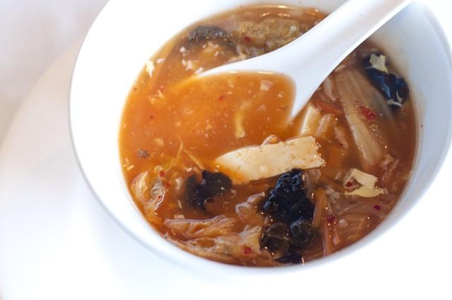 Kimchi soup, Silver Palace - HANNAH PALMER EGAN
