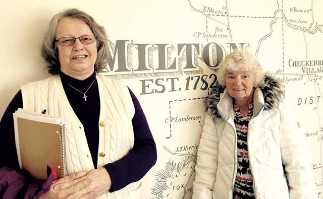 Sally Momaney and Brenda Bean - MOLLY WALSH