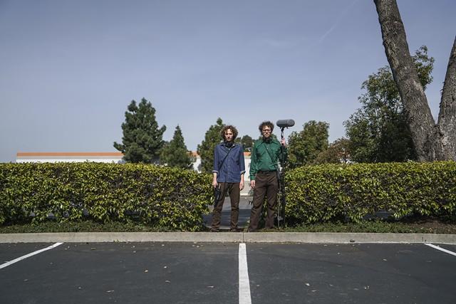 "Sam Harnett and Chris Hoff of ""The World According to Sound"" - GUNDI VIGFUSSON"