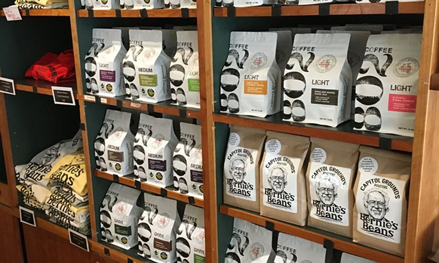 802 Coffee at Capitol Grounds Café in Montpelier - COURTESY OF CAPITOL GROUNDS