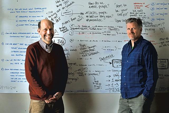Mark Travis and Watt Alexander of Subtext Media - SARAH PRIESTAP