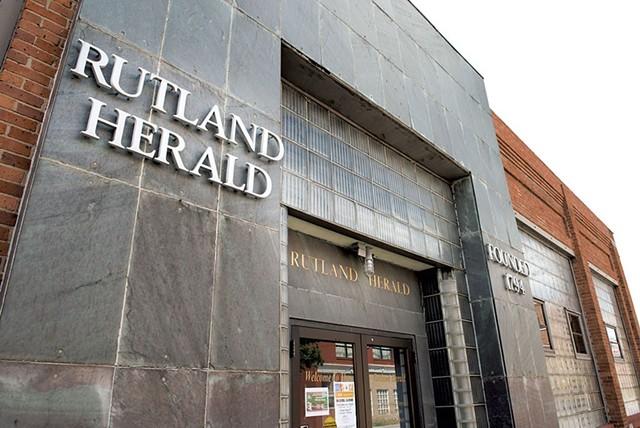 The Rutland Herald building - FILE: CALEB KENNA
