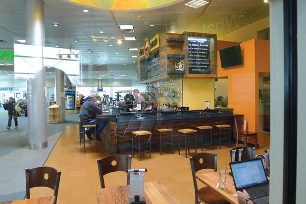 Skinny Pancake at the Burlington International Airport