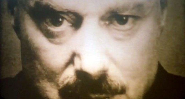 Bob Flag as Big Brother - 1984 FILM STILL