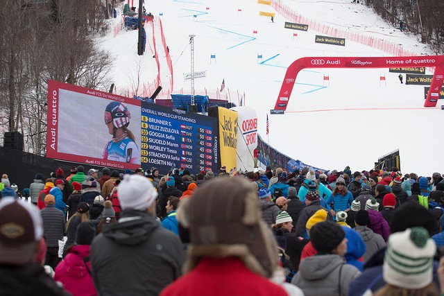 Fans at the World Cup race at Killington in 2016 - COURTESY OF KILLINGTON RESORT