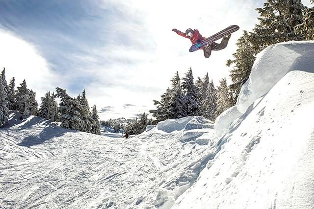 Kevin Pearce snowboarding - COURTESY OF MATT ALBERTS