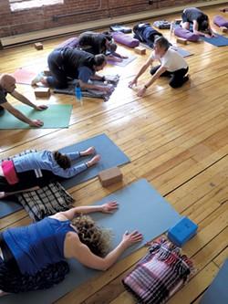 Love Your Brain yoga class - MATTHEW THORSEN
