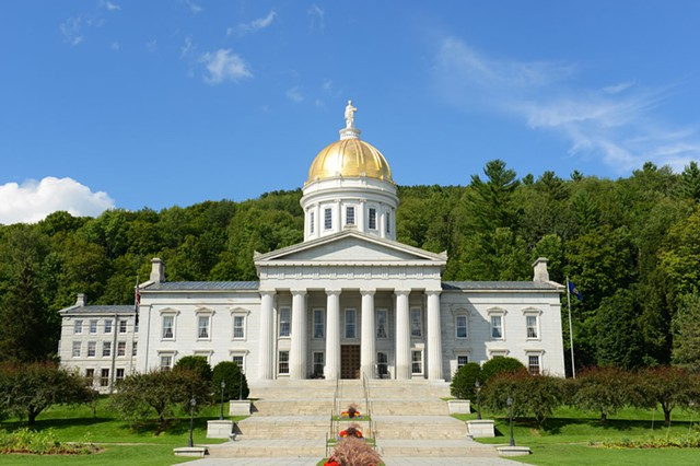 The Vermont Statehouse in Montpelier - DREAMSTIME