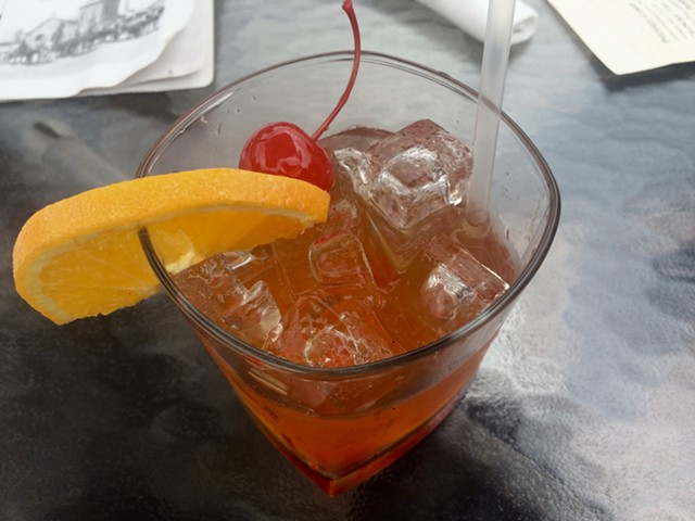 Maple Old Fashioned at One Federal in St. Albans - SUZANNE PODHAIZER