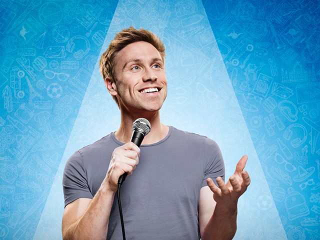 Russell Howard - COURTESY OF RUSSELL HOWARD