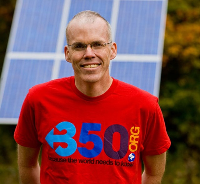 Bill McKibben - COURTESY OF NANCY BATTAGLIA