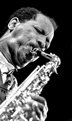 Ornette Coleman - PHOTOS COURTESY OF DEE/CREATIVE MUSIC PHOTOGRAPHY