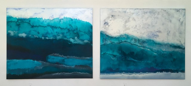"""Charlie Bluett, """"Winter Layers"""" and """"Winter Long Trail"""""""