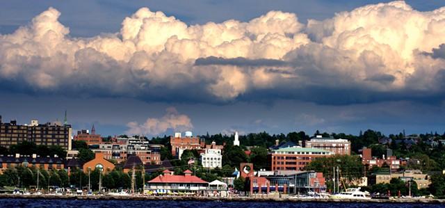 Burlington waterfront today - FILE: STEPHEN MEASE