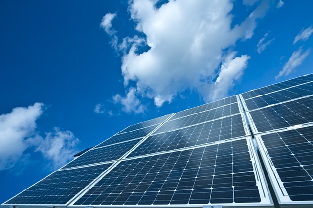 Solar arrays - DREAMSTIME