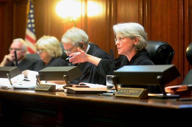 Justice Beth Robinson - POOL: APRIL MCCULLUM