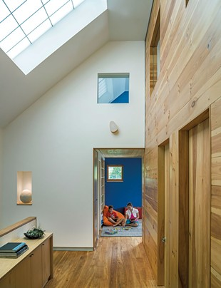 Clever design keeps the children's small bedrooms functional, not constricted. - JIM WESTPHALEN