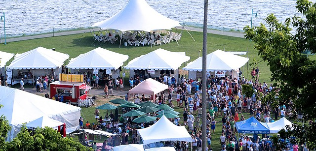 Vermont Brewers Festival on the Burlington Waterfront - COURTESY