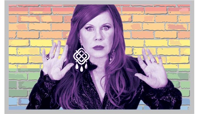 Kate Pierson of the B-52's - COURTESY PHOTO