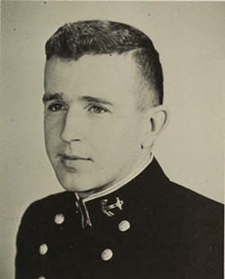 "Lt. William ""Bill"" Fitzgerald - COURTESY: U.S. NAVY"