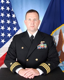 Commander Bryce Benson - COURTESY: U.S. NAVY