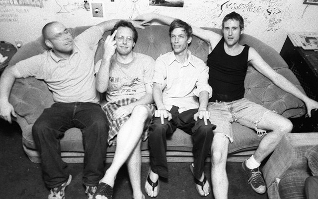 The Pants; L to R: Paul Jaffe, Neil Cleary, Tom Lawson, Eric Hutchins - COURTESY OF THE PANTS