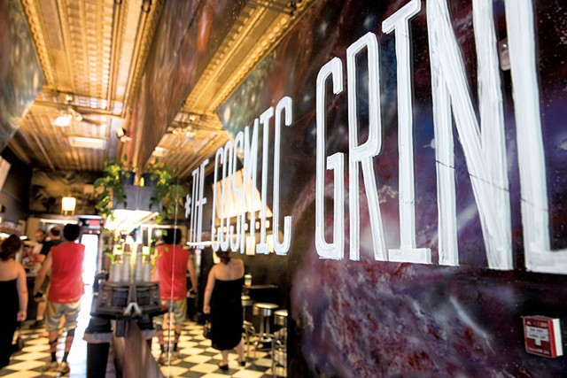 The Cosmic Grind - JAMES BUCK