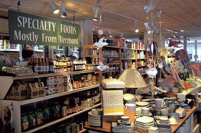Inside the store - SASHA GOLDSTEIN