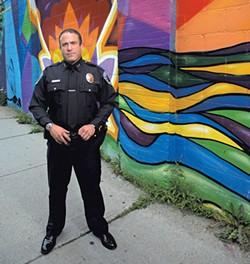 Burlington Police Chief Brandon del Pozo - MATTHEW THORSEN