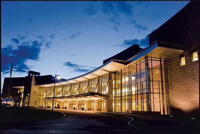UVM Medical Center - COURTESY OF UNIVERSITY OF VERMONT MEDICAL CENTER