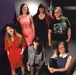 Clockwise from left: Tina Friml, Katie Gillespie, Nicole Sisk, Kathleen Kanz, Natalie Miller, Annie Russell - MATTHEW THORSEN