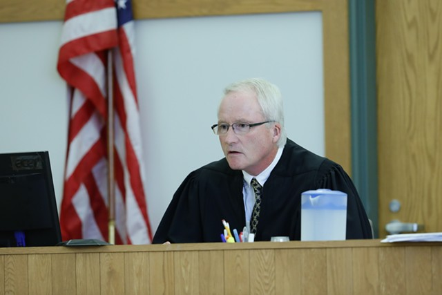 Judge Martin Maley - GREGORY J. LAMOUREUX/COUNTY COURIER