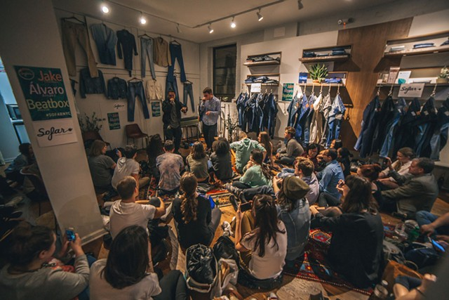 Sofar Sounds event - COURTESY OF SOFAR SOUNDS