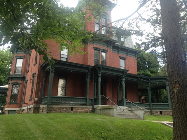 The Phi Gamma Delta house is being readied for Champlain College students. - MOLLY WALSH