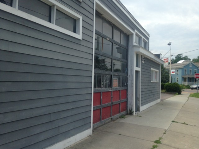 The former Burlington Beverage Center will become a recording studio. - MOLLY WALSH