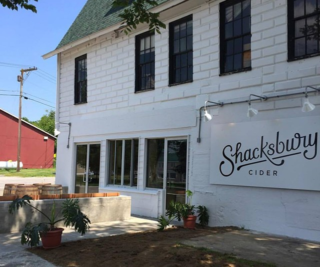 Shacksbury's tasting room in Vergennes - COURTESY OF SHACKSBURY CIDER