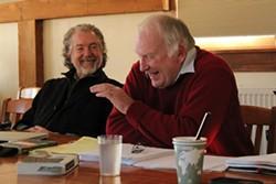 Jay Craven and Howard Frank Mosher - FILE