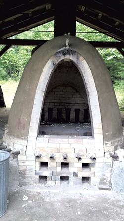 Wood-fired kiln - ELIZABETH M. SEYLER