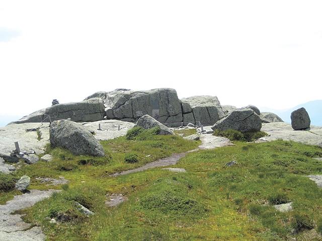 The summit of Mount Marcy in 2011 - COURTESY OF THE ADIRONDACK SUMMIT STEWARDSHIP PROGRAM