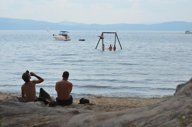 Watching from shore - SASHA GOLDSTEIN