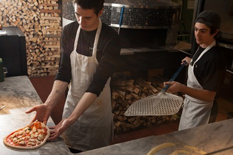 In the kitchen at Pizzeria Verità - FILE: MATTHEW THORSEN