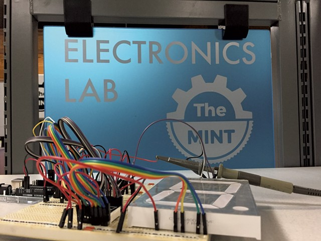 A glimpse inside the electronics lab of the Mint - COURTESY OF THE MINT