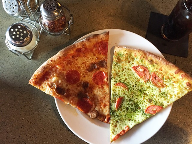Lunch special at Positive Pie - HANNAH PALMER EGAN