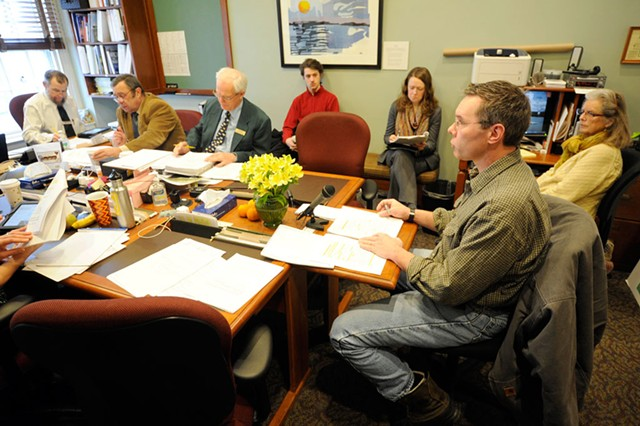James Ehlers testifies before the House Committee  on Fish, Wildlife and Water Resources. - JEB WALLACE-BRODEUR