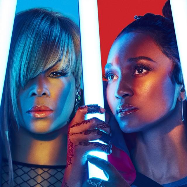 "TLC: Tionne ""T-Boz"" Watkins (left), Rozonda ""Chilli"" Thomas - COURTESY OF TLC"