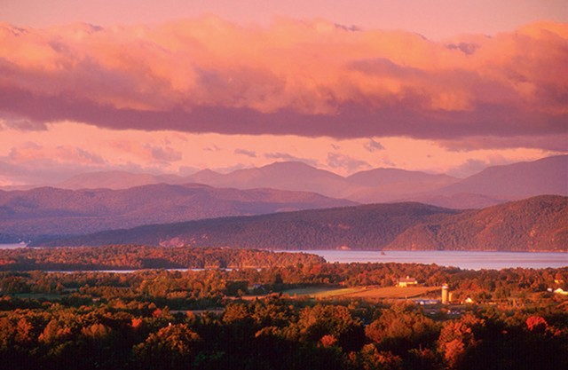 Western view from Mount Philo State Park - FILE: JEB WALLACE-BRODEUR
