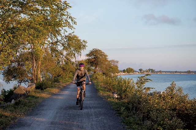 Burlington Bike Path - RYAN BENT