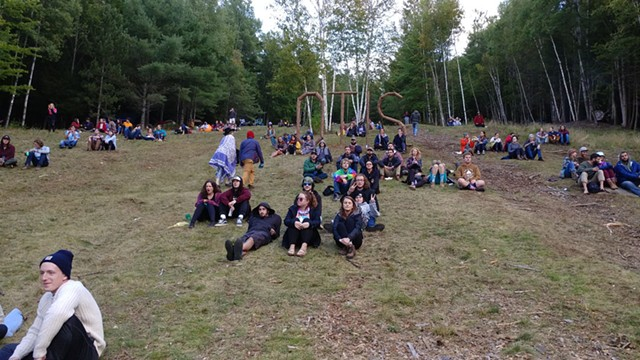 Crowd at the Otis Mountain Get Down - JORDAN ADAMS