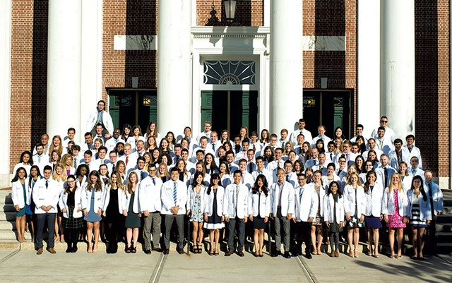 UVM Larner College of Medicine class of 2020 - COURTESY OF UVM/ANDY DUBACK